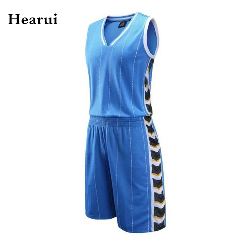 Custom Club Basketball Jersey Blank Version High Quality Professional Team Uniforms Basketball Training Set Shorts + Shirts(China (Mainland))