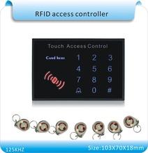 Livraison gratuite date K15A acrylique étanche panneau tactile clavier mot de passe & RFID Système de Contrôle D'accès de Serrure de Porte D'entrée de Proximité(China (Mainland))
