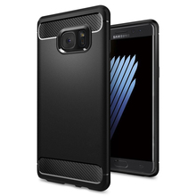 100% Original SGP Rugged Armor Carbon Fiber Texutred Protective Case for Samsung Galaxy Note 7(China (Mainland))