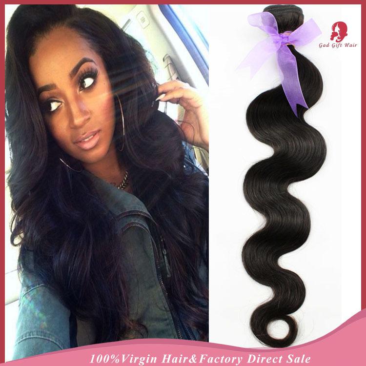 7a grade virgin hair peruvian unprocessed human hair weave extensions 3pcs100g Peruvian body wave hair weave bundles(China (Mainland))