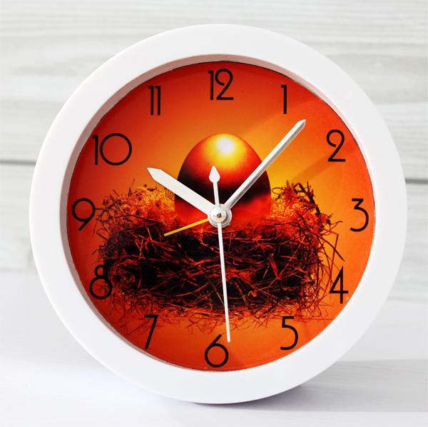 Myths rich golden eggs fashion creative small alarm clocks clock time desktop clock office bedroom study(China (Mainland))