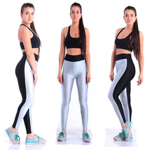 57043 women s sports leggings fitness leggings exercise gym training leggings spandex leggings sports pants free