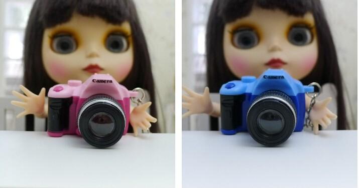 1Pc Digital camera New Vogue Doll equipment Digital camera for barbie doll, equipment for BJD Doll 1 / 6 bjd sd pullip,for blythe