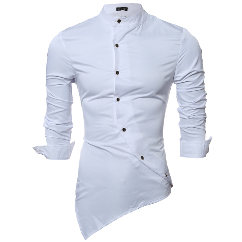 2016 Long Sleeve Silk Men Casual Shirt Thin Plus Size Xxl Groom Tuxedo Fashion Men Wedding Dress Shirts Soft Casual Shirt Men z0