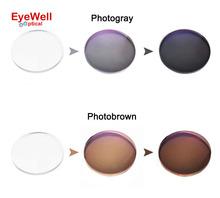 1.56 Transition Photochromic Glasses Optical Lenses For Myopia Sunglasses Single vision lens photo gray or photo brown chameleon