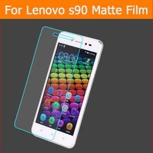 3pcs anti-glare screen protector film For lenovo s90 5″ front matte films Anti-Fingerprint panel with clean cloth fast shipping