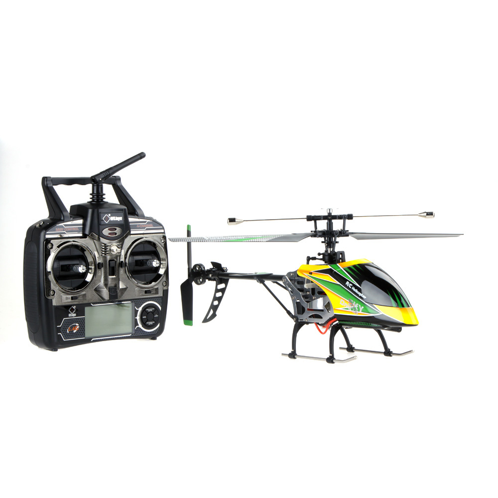 New Design Wltoys V912 Large 4CH Single Blade RC Helicopter 2.4ghz Radio System helicopter remote control(China (Mainland))