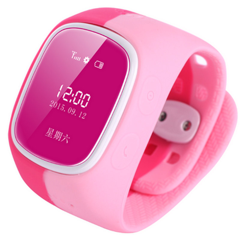 Smart child soft strap walkie talkie watches for gp s card led male girl waterproof electronic watch(China (Mainland))