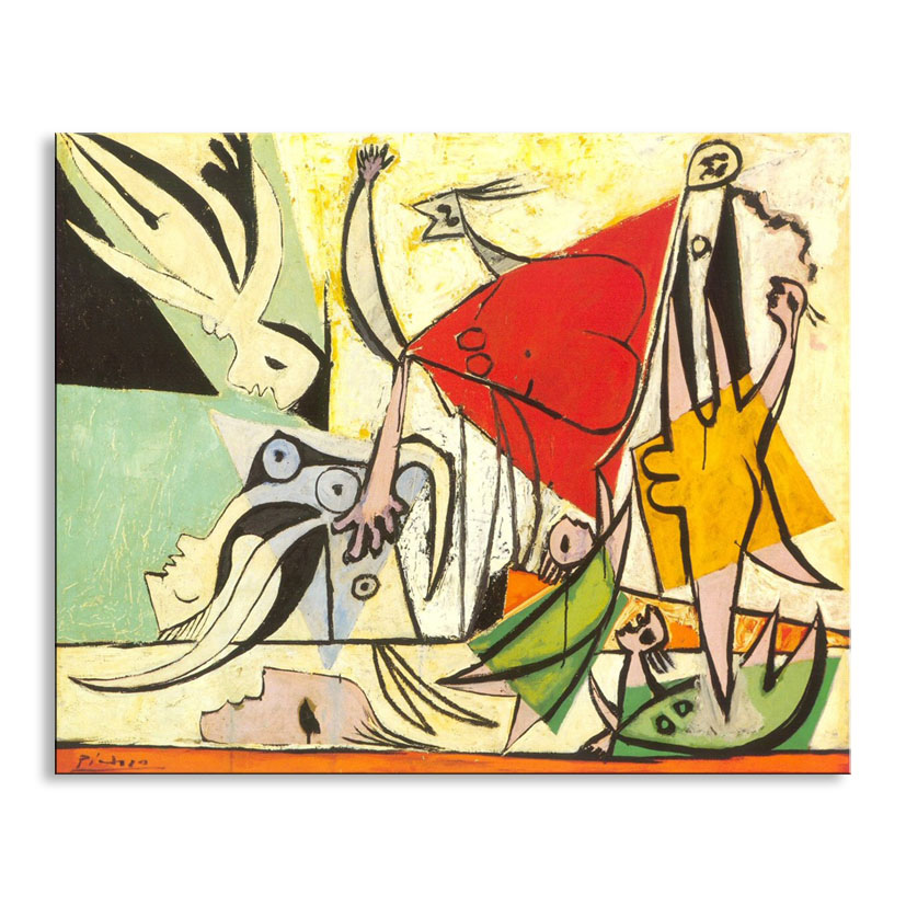 Painting Picasso Sink fish Hd print canvaspainting Photo print painting PrintsWall Pictures for LivingRoomPictureGM-008(China (Mainland))