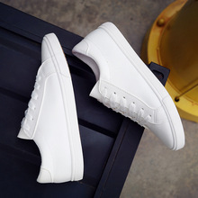 Buy 2016 new spring summer white shoes women flat leather canvas shoes female white board shoes casual shoes female b2 for $11.99 in AliExpress store