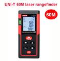 UNI T UT391 laser distance meter gauge 60M laser rangefinder digital level bubble laser Range Finder