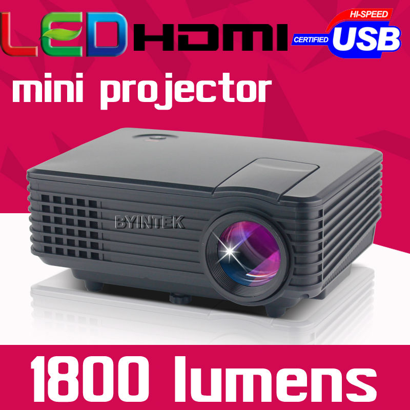 2016 Cinema New Portable HD HDMI TV Tuner Pico Micro Digital USB Home Theater mini LED LCD Video Projector Proyector Beamer(China (Mainland))