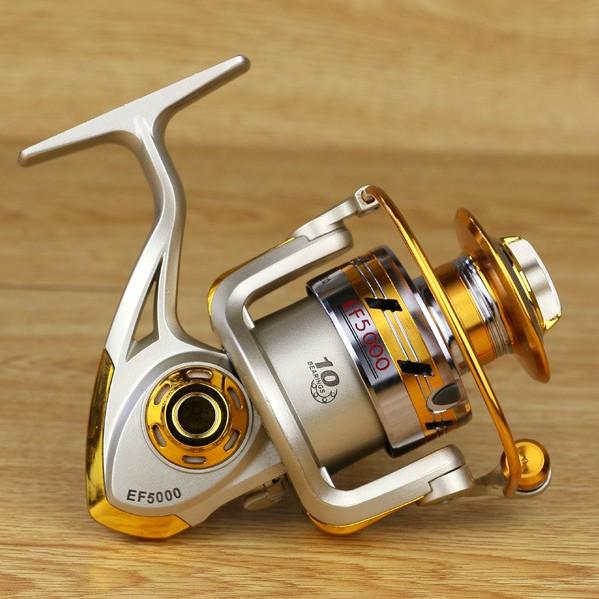 Yumoshi brand new spinning fishing reel 5 5 1 fishing for Fishing reel brands