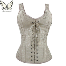 burlesque corset steampunk waist corsets women bustiers Sexy Lingerie Female corset gothic clothing corselet Corsage(China (Mainland))