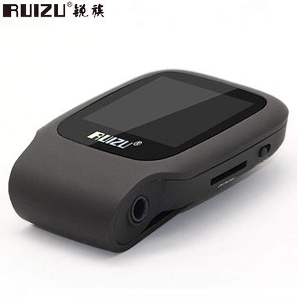 2016 New Arrive Original RUIZU X09 Sport MP3 Player 4gb Clip Mini With Screen Can Play 30 Hours, With FM,E-Book,Clock,Data(China (Mainland))
