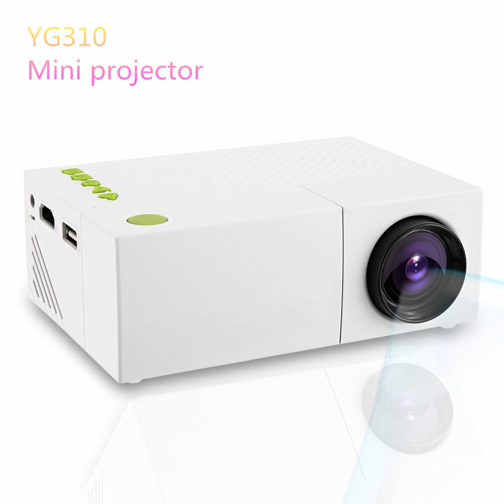 Yg310 lcd projector hd resolution multimedia led for Miniature projector
