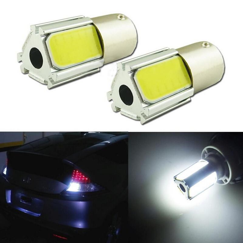 2 Pcs Per Lot HID White 1156 P21W 36-chips COB LED Bulb For Car Backup Reverse Light(China (Mainland))