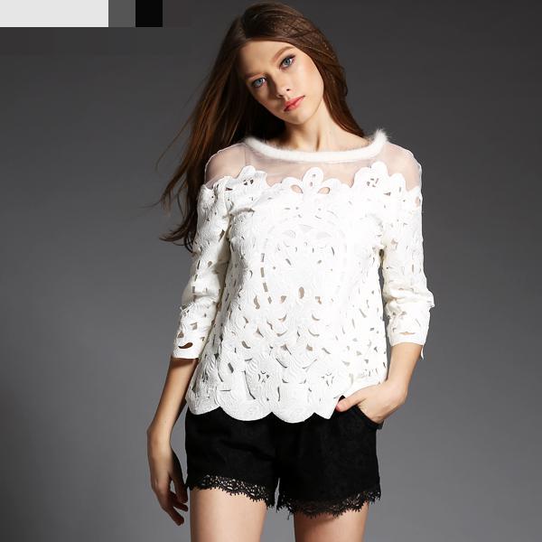 Formal White Blouses 65
