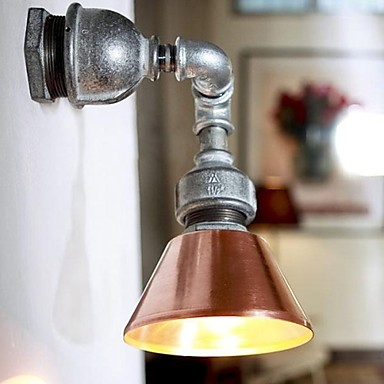 Фотография Loft Style Industrial Vintage Wall Light Fixtures For Home Metal Water Pipe Lamp LED Wall Sconce Indoor Lighting Lampara Pared