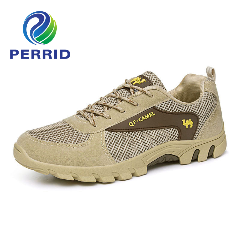 Original Brand Summer Autumn Low-Heeled Breathable Wear-Resistant Male Multifunctional Casual Net Fabric Sports Hiking Shoes<br><br>Aliexpress