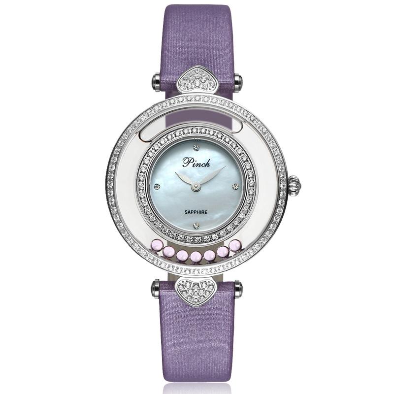 Original Design Fragrance Leather Watch,Fashion trends hollow Created Diamond quartz women Watch,Birthday Gift,Holiday Gifts(China (Mainland))