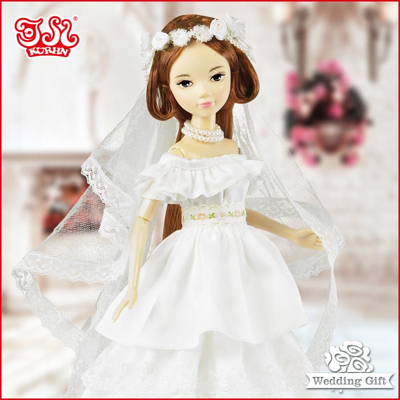 2015 High end wedding gift wedding gown fashion doll Kurhn Doll- Dream IV #9092(China (Mainland))