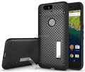 TPU&PC heat radiation function Slim Dual armor Ultra Thin Net Design Mesh Case For Nexus 6P case with stand #1