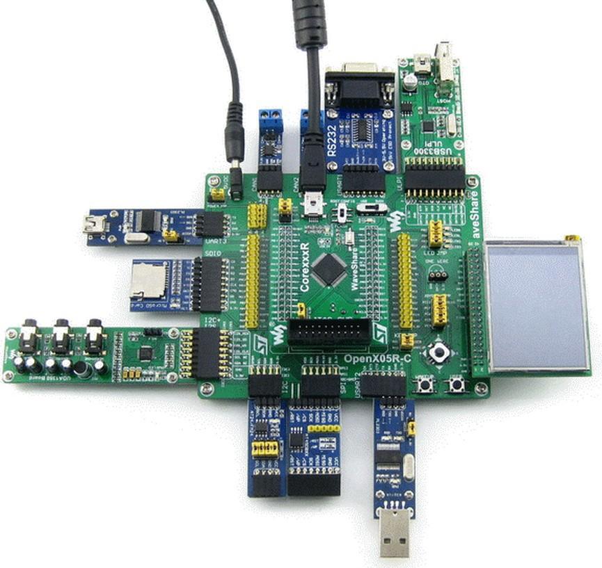 STM32 Board ARM Cortex-M4 STM32F405 STM32F405RGT6 STM32 Development Board + 11 Accessory Module Kits =Open405R-C Pack B(China (Mainland))