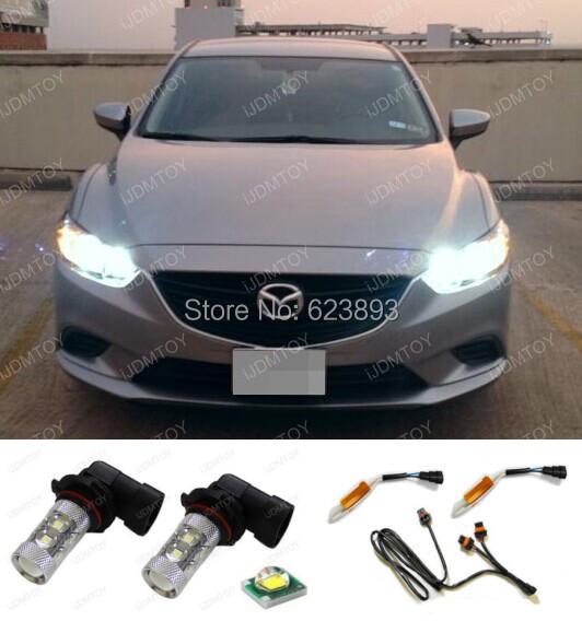 Дневные ходовые огни COM 2 x 50W 9005 Mazda 6