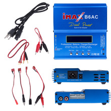 Original Balance Charger Digital iMax 80W B6AC Lipro Battery for RC Model Nimh Lipo Nicd Free