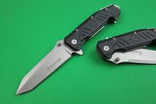 Cuchillo plegable kinves tácticos cuchillo que acampa herramientas de rescate de la supervivencia Browning cuchillo 58HRC manija de aluminio de alta calidad