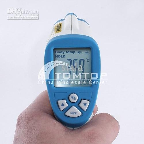 Thermometer& Baby thermometer Infrared Digital Thermometer Gun with Laser Sight (Non Contact)(China (Mainland))