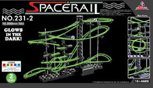2016New Space Raill, Funny Building Kit, Roller Coaster Toys, SpaceRail Level 2, DIY Spacewarp Erector Set, 10000mm Rail(China (Mainland))