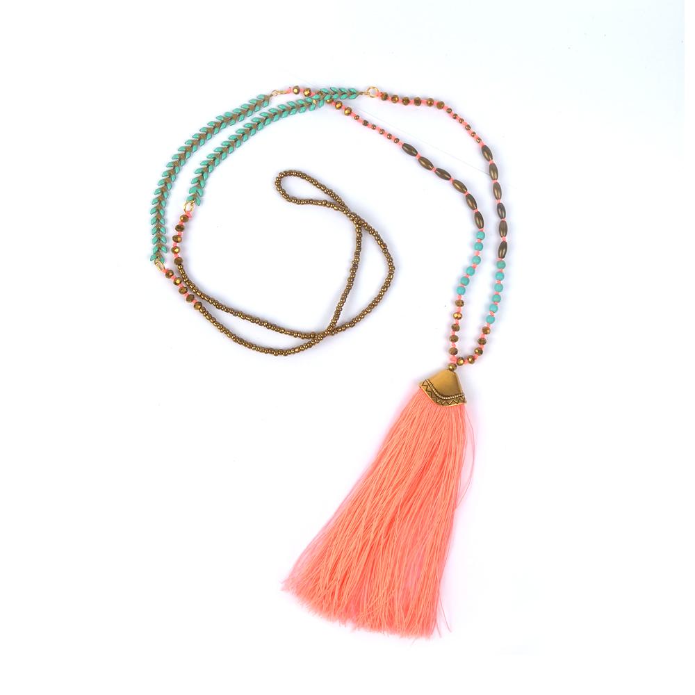 Necklace Statement Collares Collier Colar Vintage Jewelry Maxi Joyeria Necklaces Women Bijoux Femme Kolye Long Boho