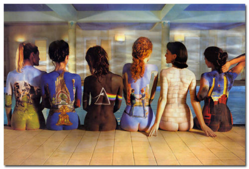 J3028 Pink Floyd Back Catalog Girls Giant Pop 14x21 24x36 Inches Silk Art Poster Top