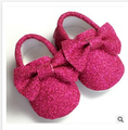 60pairs new metallic color Baby Girls Shoes First Walkers PU Leather Baby moccasins Soft Sole Non