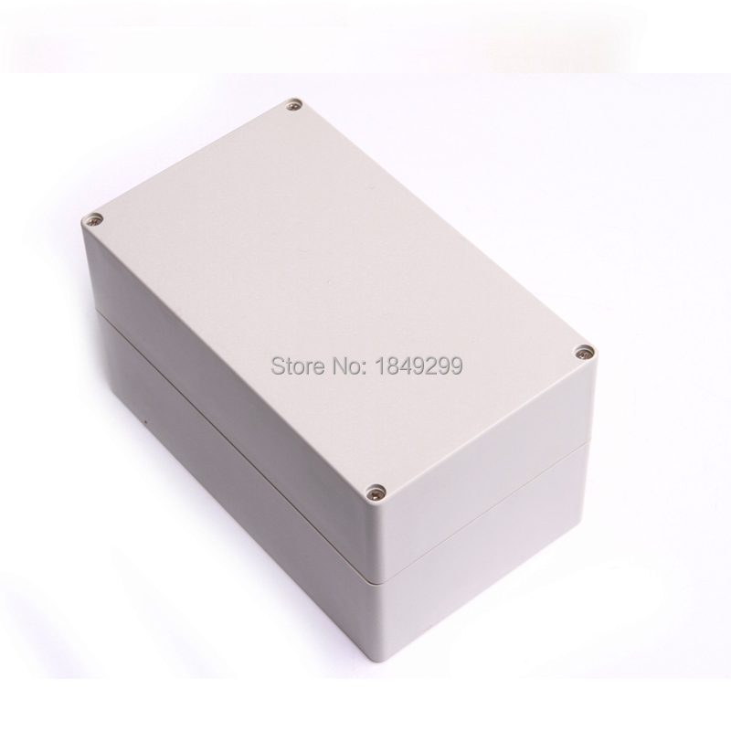 Free Shipping Grey Waterproof Plastic Cover Project Electronic Instrument Case Enclosure Box 200*120*113mm