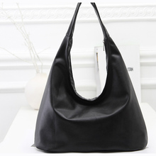 RoyaDong Brand 2015 New Women Shoulder Bags Hobos Designer Handbags For Women Black PU Leather Bags Ladies Messenger Bags Bolso