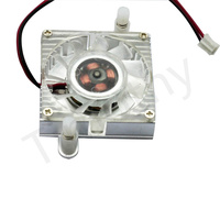 HOT SALE FREE SHIPPING 55mm 2 Pin Cooling Fan Heatsink Cooler for PC Computer Laptop CPU VGA Video Card  1PC