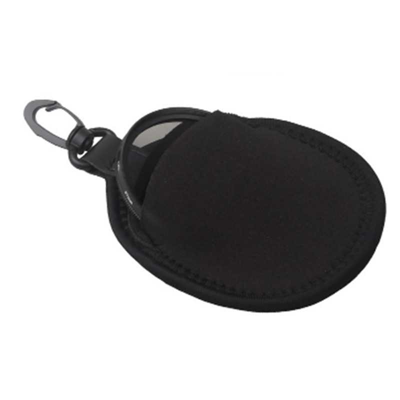 Free Lens Filter Bag with 2 pockets for different size Filters 49 52 55 58 62 67 77mm CPL UV MC ND Infrared Gray Filter J450(China (Mainland))