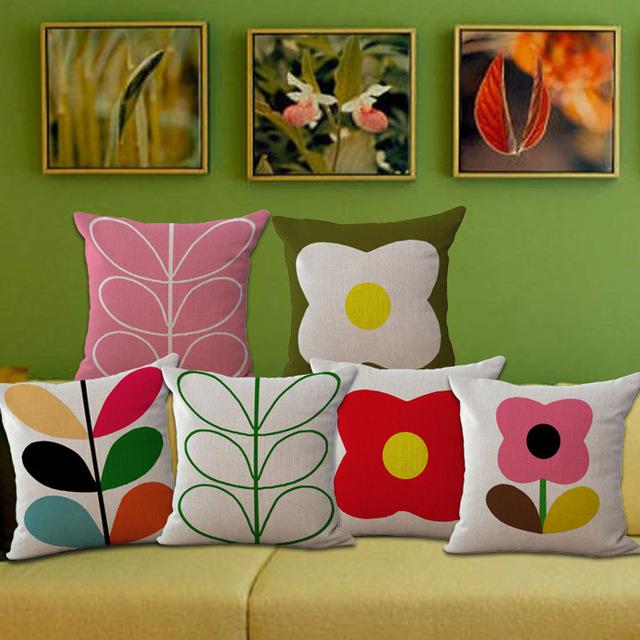 Оптовая продажа цена творческий краткая мода подушка сиденья декоративные домашнего декора председатель бросьте подушки чехол 1pieceX45 * 45 см