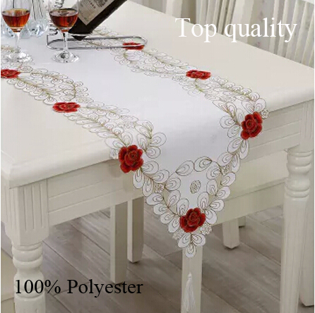 runner table tesco christmas flag Embroidery  weddings table christmas banquet for runner hotel