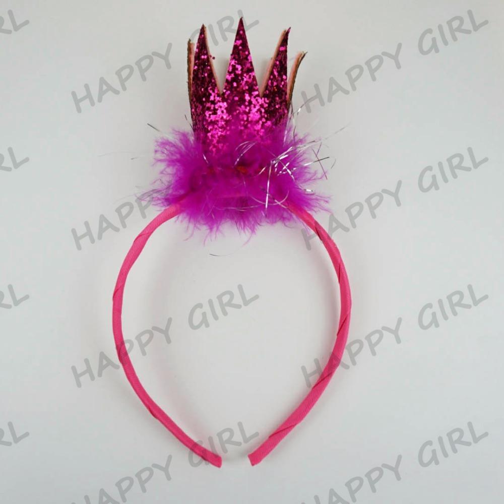 2016Grosgrain Villus Hair Clips Floral Flower Garland Crown Headband Hair Band Bridal Festival Holiday Headwear(China (Mainland))