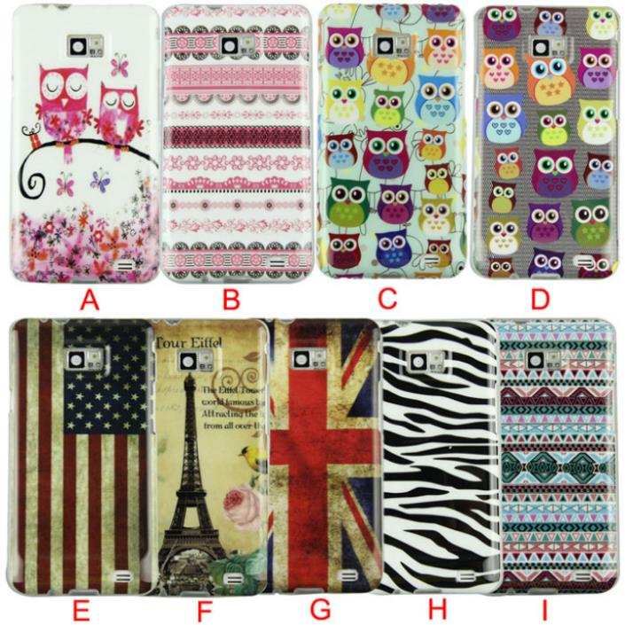 Hot Marketing New Design Of Silicone Soft Case Cover for Samsung Galaxy S2 SII S II i9100(China (Mainland))