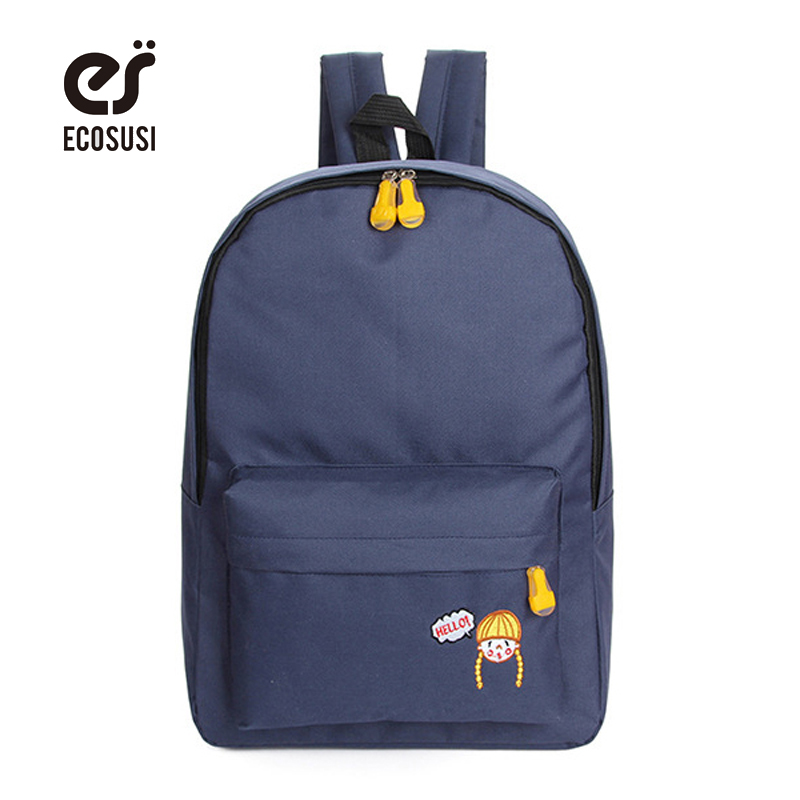Pigtail Embroidery Backpack Sample Backpacks For Teenage Girls Cute School Bags For Teenagers Book Bag For Student Mochilas(China (Mainland))
