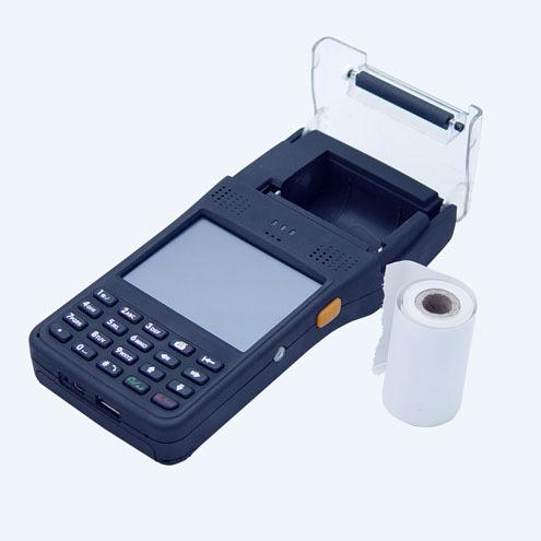 LS350T windows mobile 6.5 handheld pda with printer(Hong Kong)
