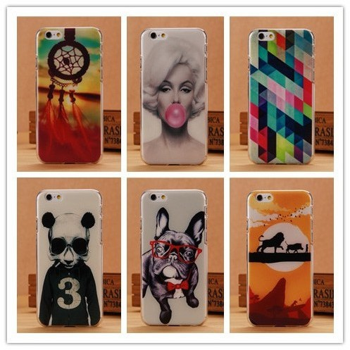 2014 Hot Hard Case For iPhone 6 4.7 inch Mobile Phone Printing Cover For Iphone6 Fashion Back Covers Shell Wholesale PY(China (Mainland))