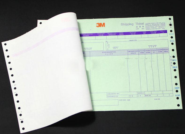 Carbonless Paper Invoices Paper Receipt Invoice