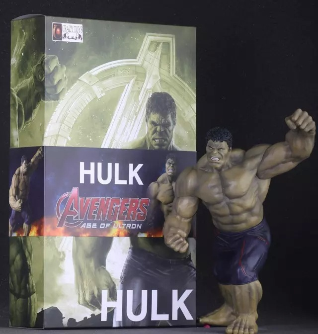 Brand New Marvel The Avengers Hulk Hulkbuster 12 Action PVC Figure Hollywood Animation Model Retail Box Collection<br><br>Aliexpress