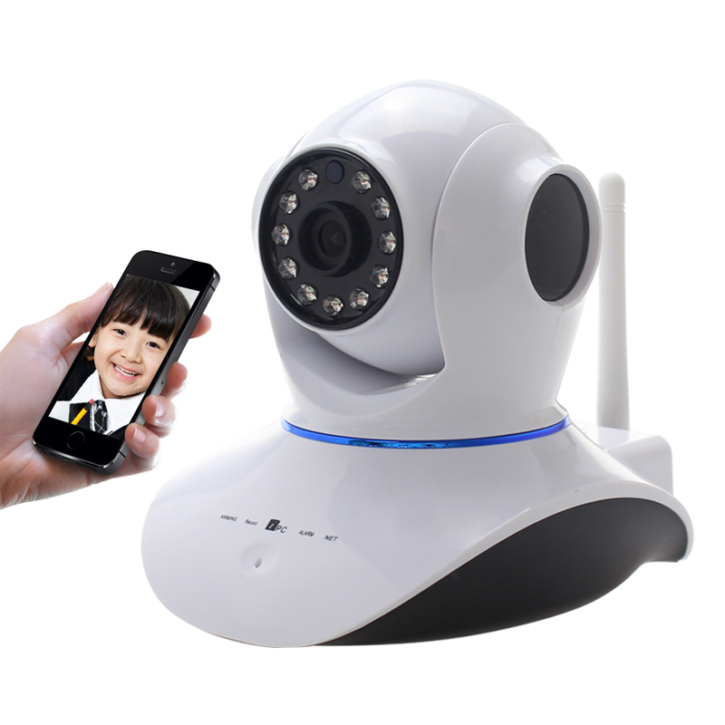 New 720P HD WiFi IP Network Wireless Webcam Home Security Camera Surveillance PnP P2P AP Pan